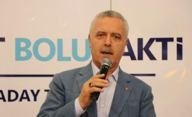 AK Partili Ataş: Erdoğan'ı başkan yapmadan eşimiz bize haramdır
