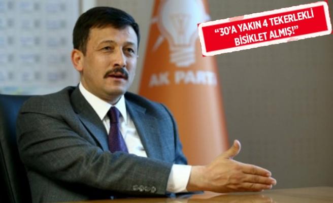 AK Partili Dağ'dan İnce'ye 'bisiklet' göndermesi!