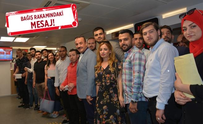 AK Partili Şengül'den, 'Erdoğan' kampanyasına destek
