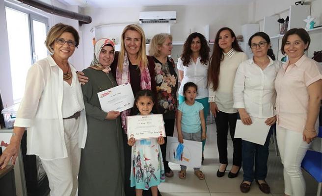 Urla'da anne ve çocuklar birlikte eğitimde!