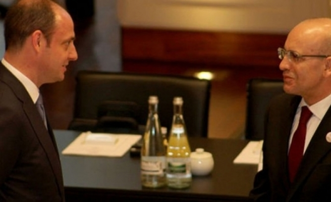 Başbakan Yardımcısı Şimşek ve Merkez Bankası Başkanı Çetinkaya Londra'da