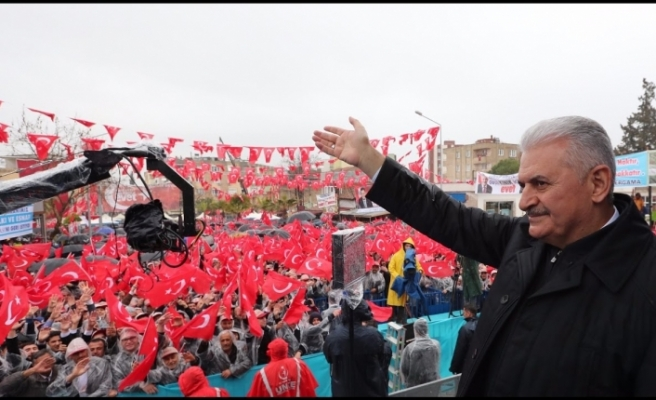 Başbakan Yıldırım bugün İzmir'de...