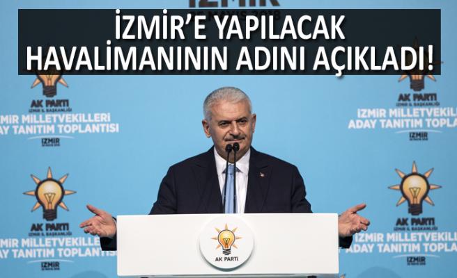 Başbakan Yıldırım, İzmir'e müjdelerle geldi
