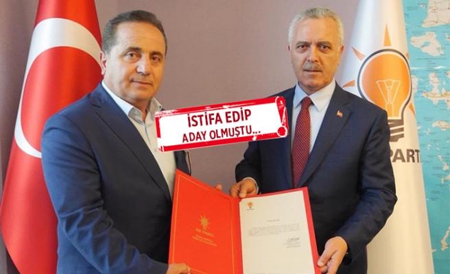 AK Partili Bilgi, yeniden ilçe başkanı oldu!
