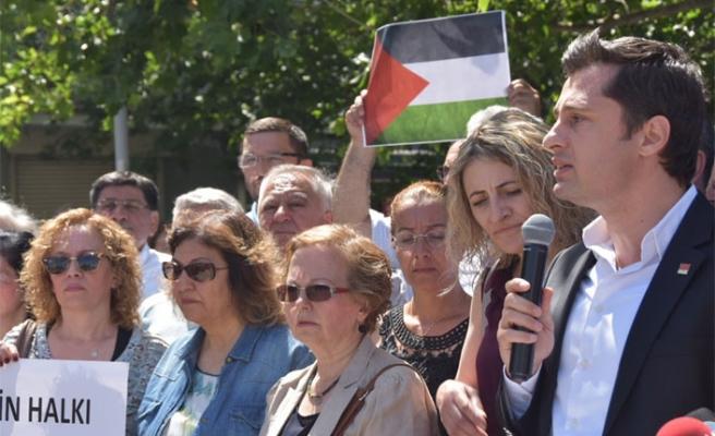 CHP İzmir'den katliama tepki: İsrail tecrit edilmelidir!