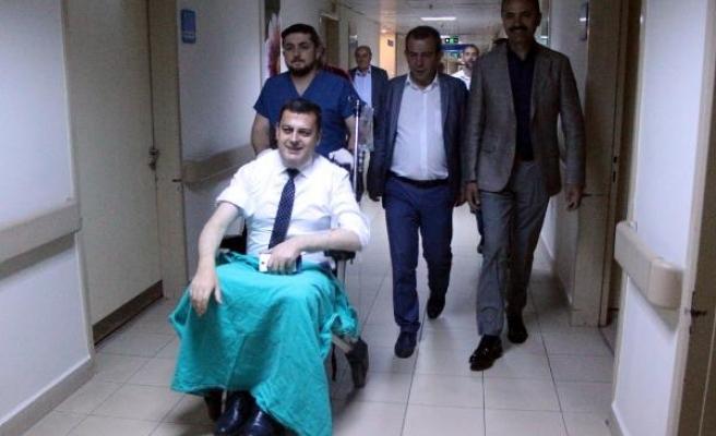 CHP'li milletvekilleri trafik kazası geçirdi