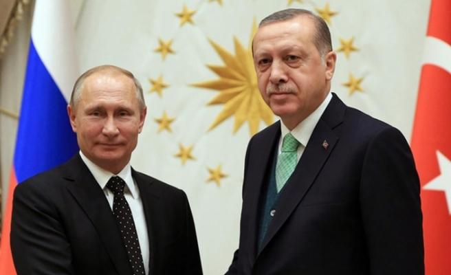 Cumhurbaşkanı Erdoğan, telefonda Putin ile görüştü
