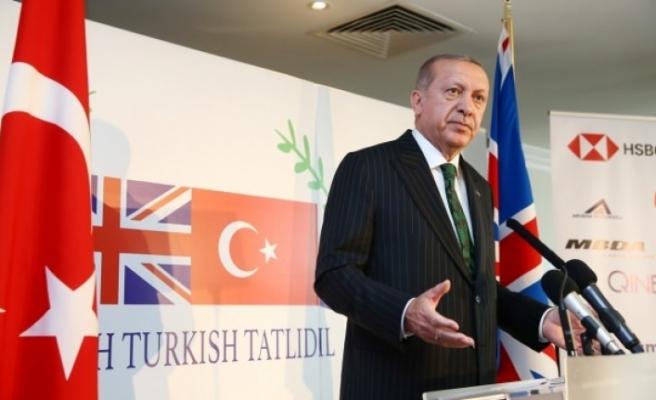 Erdoğan'dan İngiltere'de çağrı: Gelin birlikte üretelim