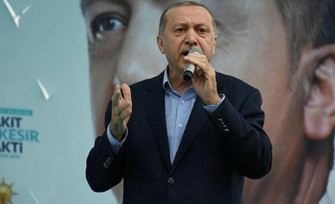 Erdoğan, ilk kez 'İnce' dedi