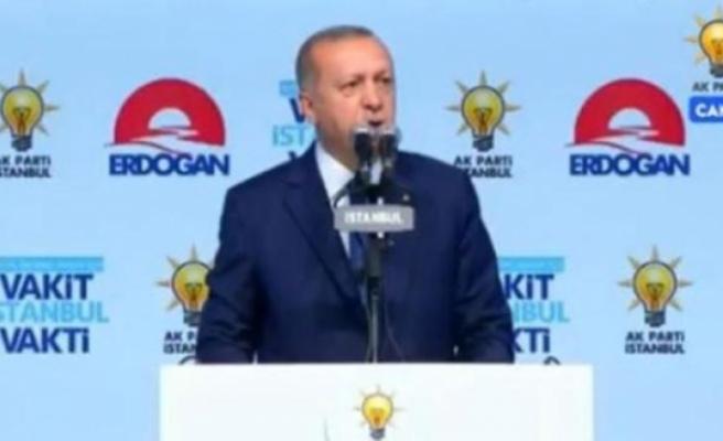 Erdoğan: Senin havsalan bunu almaz