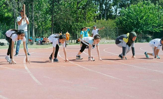 Genç sporcular, 'Ata'ları için ter döktü