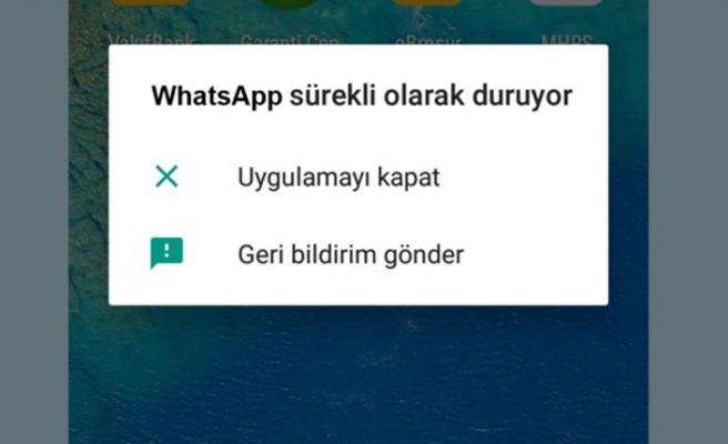GM 8 WhatsApp ve Instagram sorunu (Uygulama Durduruldu hatası çözümü)