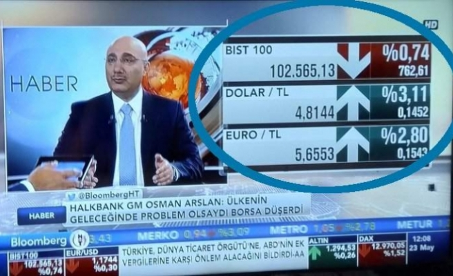 Halkbank CEO'su: Ülkenin geleceğinde problem olsaydı borsa düşerdi