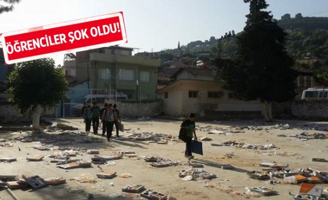 AK Parti'nin iftarı sonrası şaşırtan manzara!