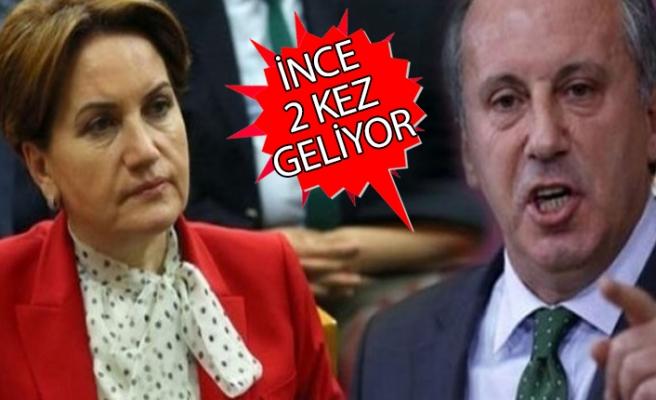 İnce ve Akşener'in İzmir'e gelecekleri tarih belli oldu!