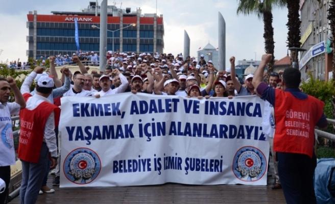 İZBETON işçilerinden grev kararı: Yarın asılacak