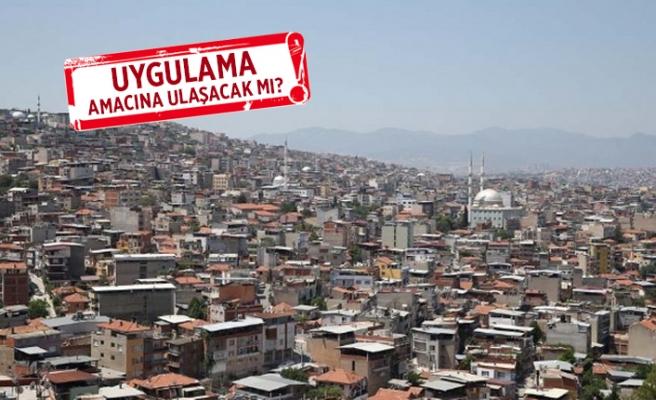 İzmir'de imar affı tartışması!