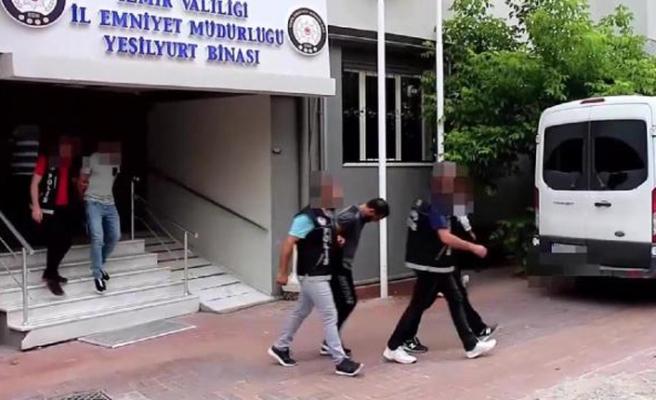 İzmir'de torbacılara operasyon! 16 kişi tutuklandı