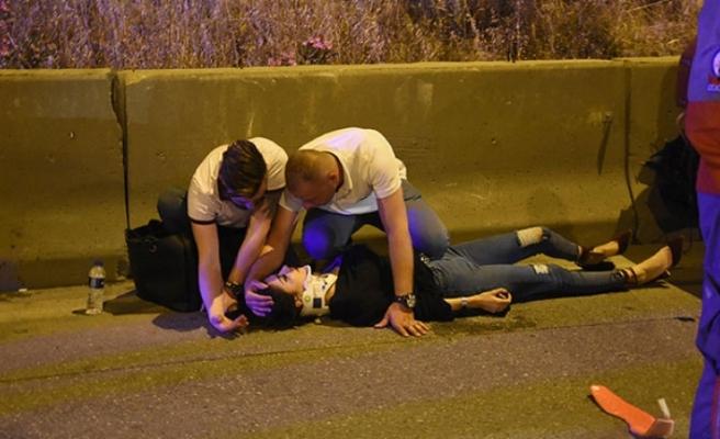 İzmir'de zincirleme kaza! Trafik canavarı kaçtı: Yaralılar var