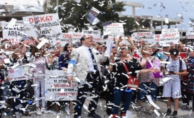İzmir'deki İstinye Park'a yargı freni