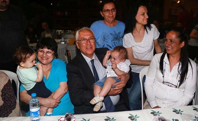 Karabağlar'da 'dayanışma' iftarı