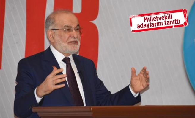 Karamollaoğlu'ndan, İzmir'de e-miting
