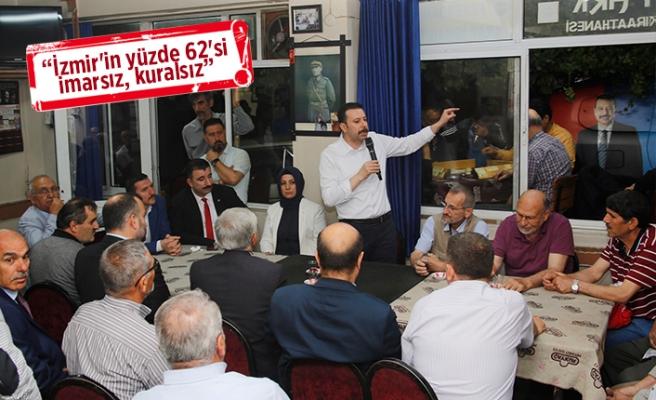 Kaya: CHP sorun, AK Parti çözüm üretir