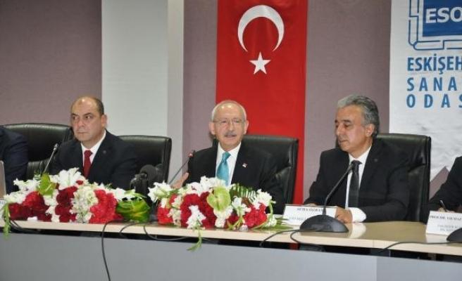 Kılıçdaroğlu: Sanayici, ekonominin kamu yöneticisidir