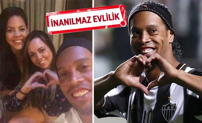 Ronaldinho'dan marjinal karar