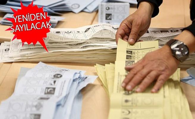 AK Parti'den, o ilçedeki oylar için itiraz geldi