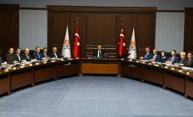 AK Parti'nin seçim toplantısı sona erdi
