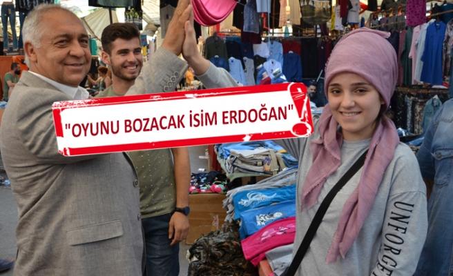 AK Partili Doğan'a gençlerden tam destek