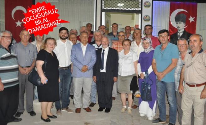 AK Partili Doğan ve Ayvalı'ya Balkan göçmenlerinden destek