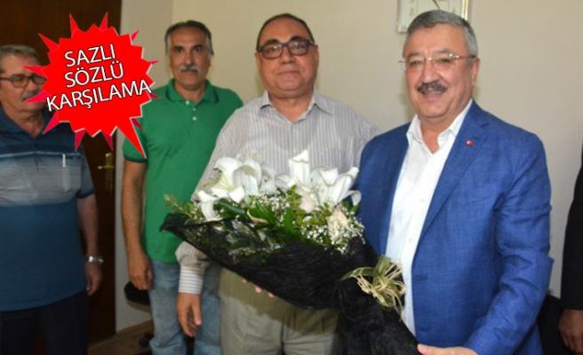 AK Partili Nasır'a esnaf odalarında sevgi seli: Onların temsilcisi olacağım