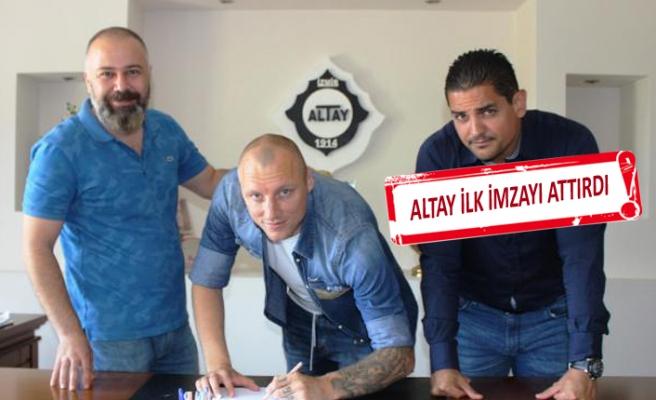 Altay dış transferde açılışı yaptı