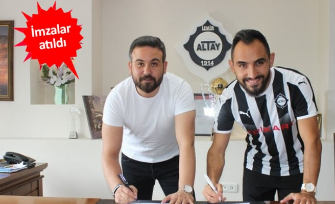 Altay,Yasin Palaz'ı transfer etti