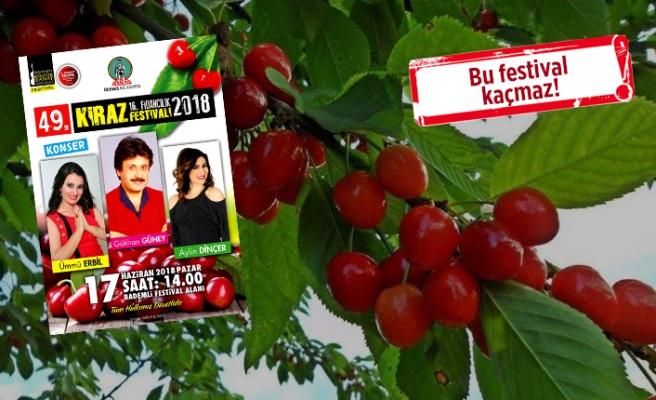Bademli Kiraz Festivali, bayramın 3. gününde yapılacak!