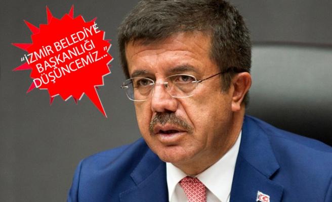 Bakan Zeybekci, Büyükşehir'e mi aday olacak?