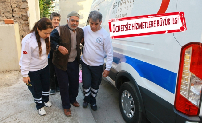 Bayraklı'da ücretsiz sağlık hizmetleri göz dolduruyor