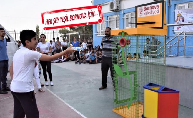 Bornova, çevreye duyarlı projelerle örnek oluyor