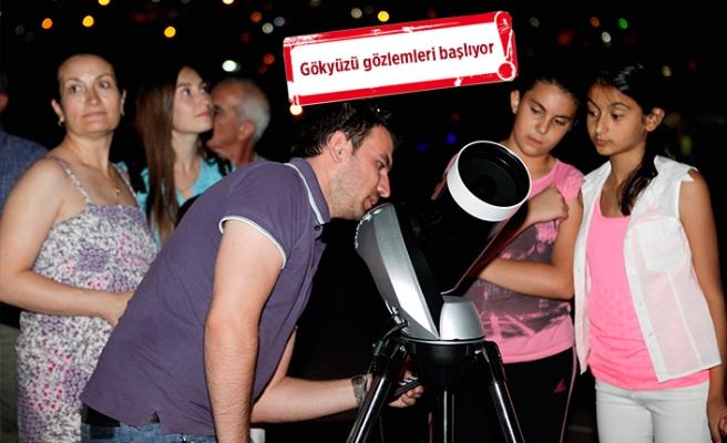 Bornovalılar, Temmuz'da teleskop başına!