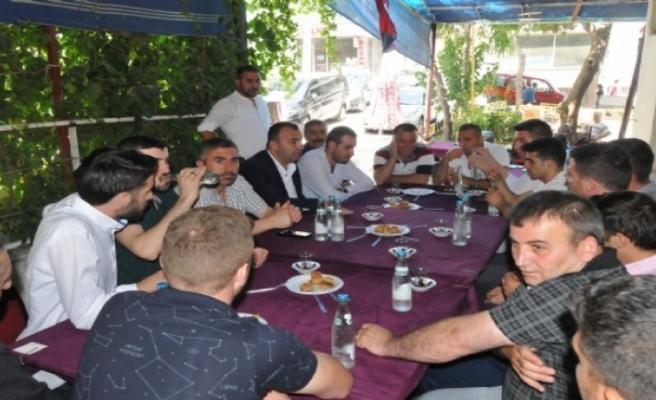 CHP İzmir Adayı Arslan'a 'hemşehrileri'nden tam destek!