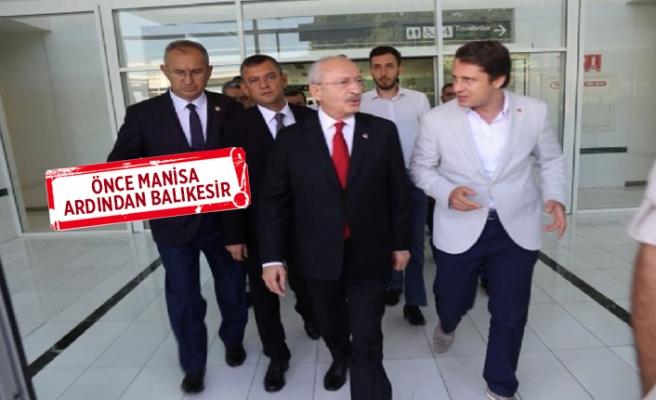 CHP İzmir, Kılıçdaroğlu'nu karşıladı