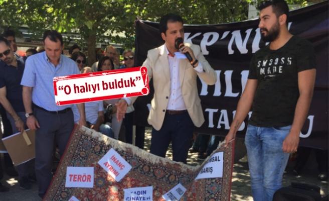 CHP Konak'tan AK Parti'ye 'halı'lı gönderme