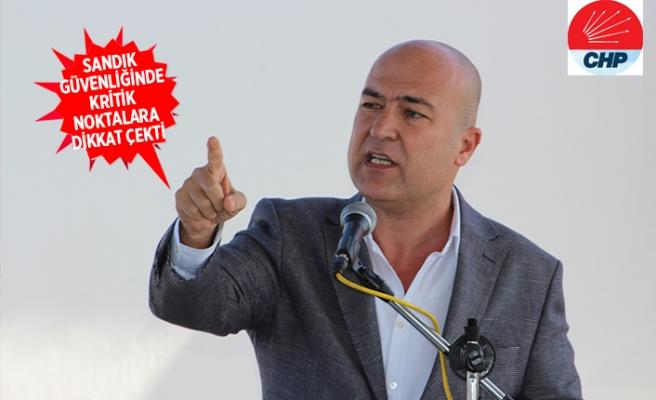 CHP'li Bakan: Sandıklar size, YSK bize emanet!