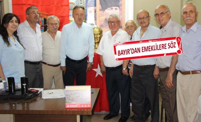 CHP'li Bayır: İktidarımızda emekliler haksızlığa uğramayacak!