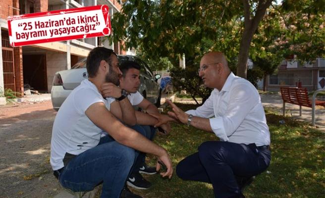CHP'nin vekil adayları, seçim çalışmalarında hız kesmiyor!