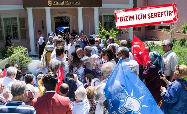 Erdoğan'a destek için akın ettiler!