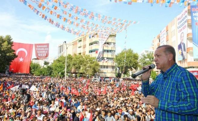 Erdoğan'dan sert sözler: Biz bu çapsızlarla yarışmıyoruz