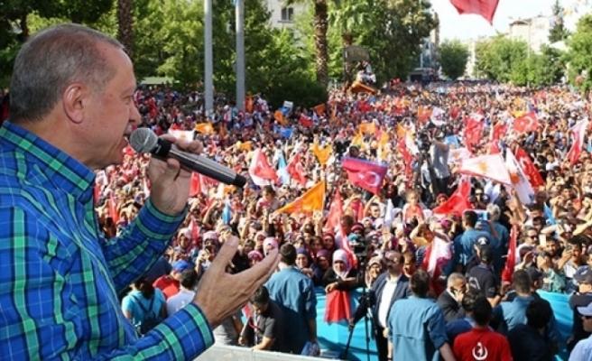 Erdoğan: Milletvekillerine sesleniyorum, İnce'ye dava açın